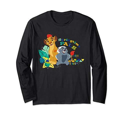 Disney The Lion Guard Springtime Pals Easter Long Sleeve T-Shirt