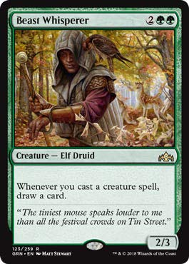 Magic The Gathering - Beast Whisperer (123/259) - Guilds of Ravnica from Magic The Gathering