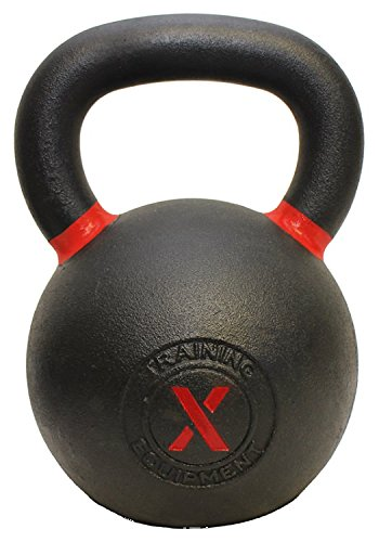 X Training Equipment Premium Kettlebells with Matte Powder Finish