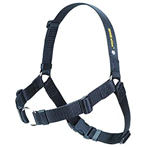 SENSE-ation No-Pull Dog Harness - Black by Softouch