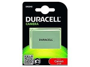 Duracell DR9945 - Batería para cámara digital 7.4 V, 1020 mAh (reemplaza batería original de Canon LP-E8)