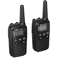 Midland Consumer Radio T10 X-TALKER, 22 Channel FRS Walkie Talkie - Up to 20 Mile Range Two-Way Radio, 38 Privacy Codes & NOAA Weather Alert - Pair Pack - Black