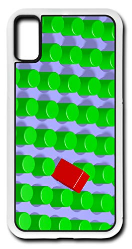 (iPhone Xs Case You Can Put A Square Peg Into A Round Hole Customizable by TYD Designs in White Plastic)