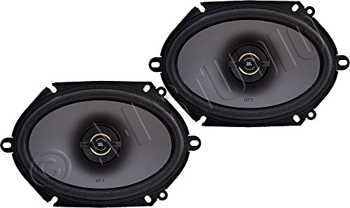 JBL GT7-86 5×7″/6×8″ 2-Way GT7-Series Coaxial Car Audio Speakers (pair)