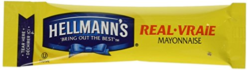 Hellmans Real Mayonnaise Stick Packs, 84 Count by Hellman's