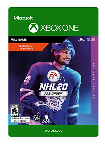 NHL 20: Ultimate Edition - Xbox One [Digital Code]
