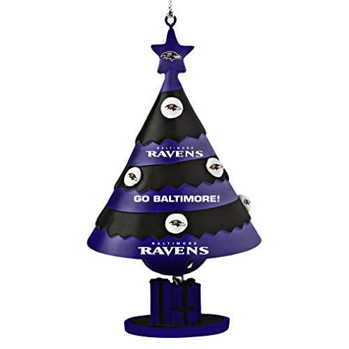 NFL Baltimore Ravens Tree Bell Ornament