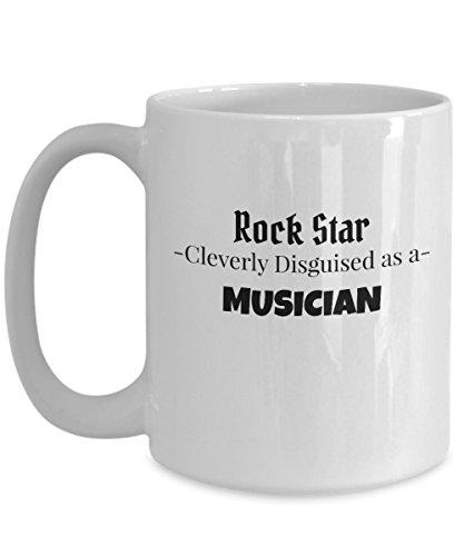 Musician Composer Rock Star Large 15oz Gift Coffee Tea Mug -