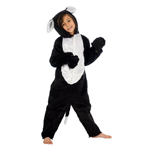 Black and White Cat Costume for Kids 4-6 Years ()