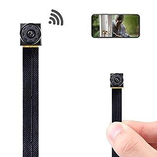 Mini Spy Camera Wireless Hidden Camera WiFi Tiny Hidden Spy Camera HD 1080P Covert Home Monitoring Security Surveillance Nanny Cam with Cell Phone App
