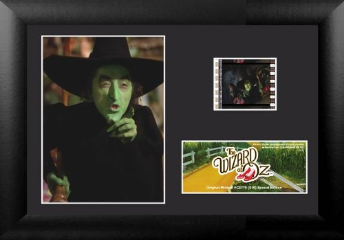 Wizard Of Oz Scene Setter (The Wizard of Oz  Wicked Witch Genuine 35mm Film Cell (S10) Minicell USFC5770)