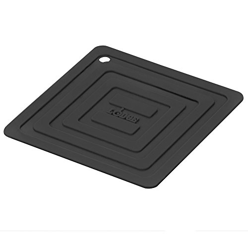 Lodge AS6S11 Silicone Square Pot Holder, - Black Silicone Pot Holder Shopping Results