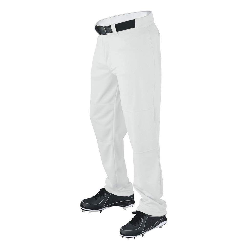 Wilson Men's Classic Relaxed Fit Baseball Pant, White, XX-Large by Wilson