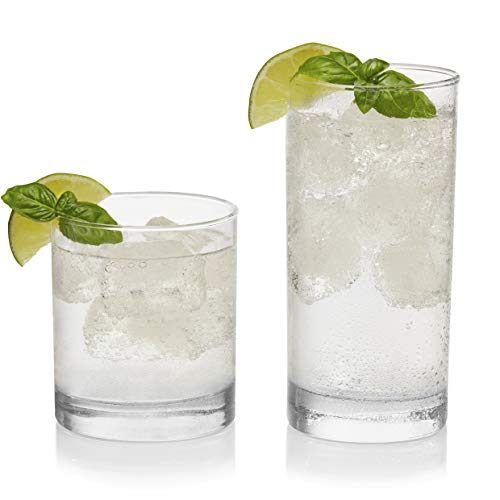 Libbey Province 24-Piece Tumbler and Rocks Glass set]()