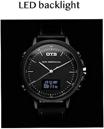 Reloj Digital de Buceo con Doble Tiempo Sumergible 30 m para natación y Correr, Estilo Minimalista: Amazon.es: Relojes