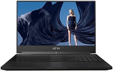 "GIGABYTE Aero 15X v8-BK4 15"" Ultra Slim Gaming Laptop 144Hz IPS Anti-Glare FHD Display, i7-8750H, GeForce GTX 1070, 16G RAM, 512GB PCIE SSD, Metal Chassis, RGB Keys"