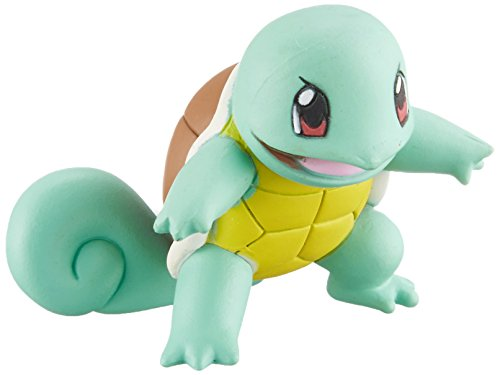 Takaratomy Pokemon Sun & Moon EX EMC-17 Mini Action Figure, Squirtle