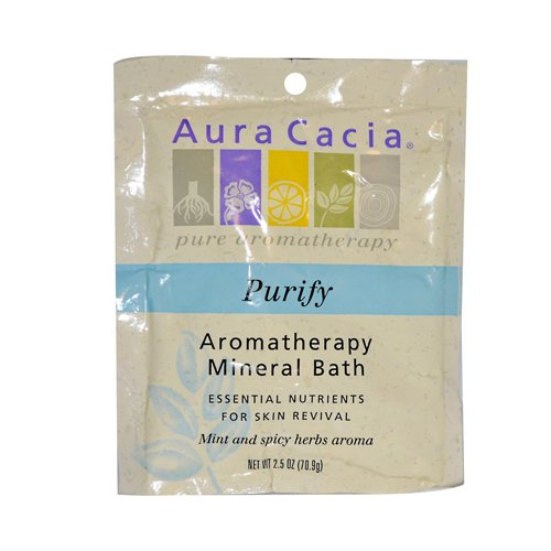 Price comparison product image Aura Cacia Aromatherapy Mineral Bath Balancing Sage - 2.5 Oz