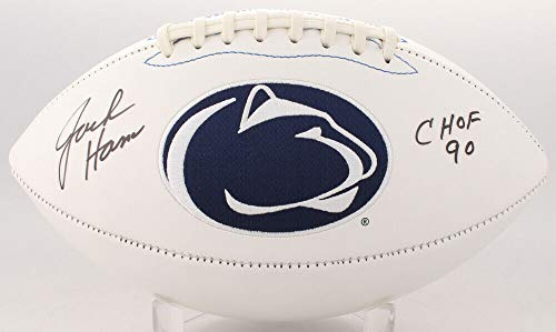- Jack Ham Autographed Signed Memorabilia Penn State Nittany Lions Logo Football Inscribed Chof 90 Tse - Certified Authentic