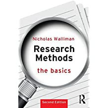 Research Methods: The Basics: 2nd edition