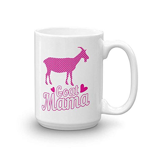 (Goat Mama Funny Coffee Mug   Goats Mug   Farm Animals Drinkware   Kitchen ware   Goat Mug Gift   Farm Animal Gifts   Gifts for Moms by Max&Mori)