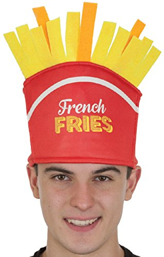 Kid Costume Fry French (27129 French Fry Fries Hat McDonalds Wendys Burger)