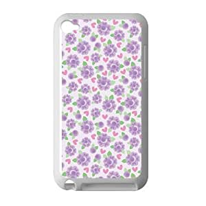 Roses Purple Case for Ipod 4