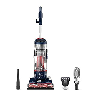 Hoover UH74110 Pet Max Complete Bagless Upright Vacuum Cleaner, Blue Pearl