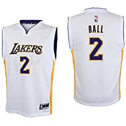 Outerstuff Nba Youth 8-20 All Star Team Color Players Replica Jersey (Medium 1012, Lonzo Ball Alternate)
