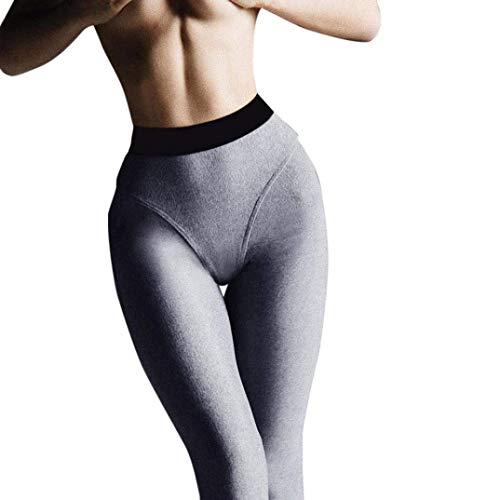 Aderenti Da Semplice Donna Glamorous Con Allenamento Sta Grau Yoga Elasticizzati Sportivi Pantaloni Estivi 0dBZq0