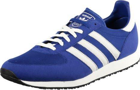 adidas Mens Originals ZX Racer Blue Trainers UK 9.5: Amazon.co.uk ...