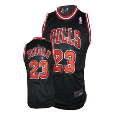Chicago Bulls, Michael Jordan, Nike Jersey Size Large Black Bulls New with Tags