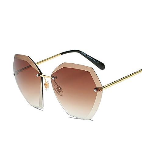 JUNHONGZHANG Gafas De Sol Gafas De Sol con Recorte De Caja ...