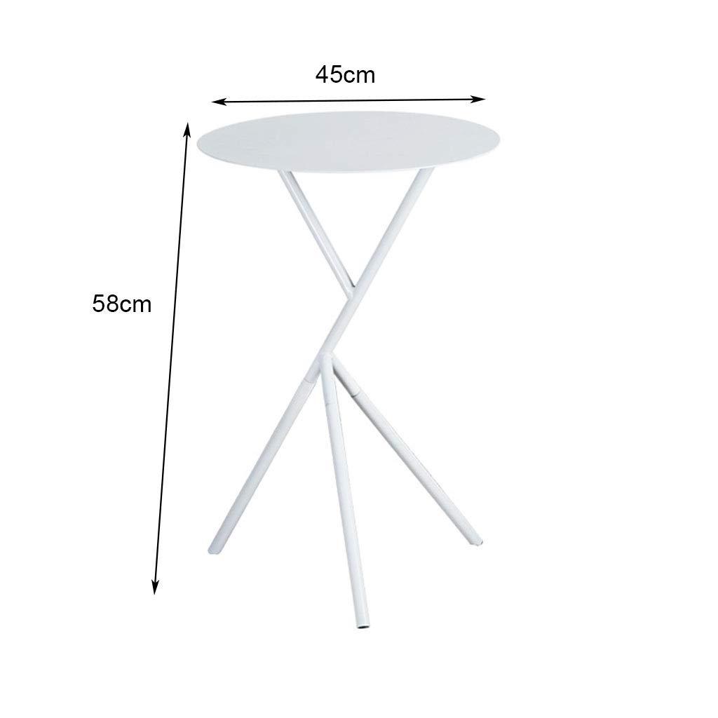 Amazon.com: Mesa auxiliar pequeña nórdica minimalista ...