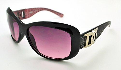 soleil gratuit étui classique haute qualité Frame femme W Lens Hot Black Mode pour Purple Lunettes tendance Vox de microfibre vw6q11