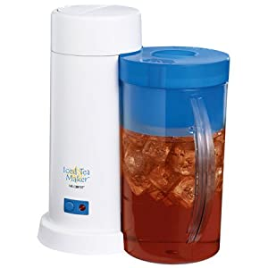Mr. Coffee Iced Tea Maker – This Ice tea maker is just perfect. Makes great tea in no time with little