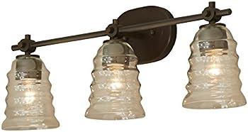 allen + roth Elham 3-Light Bell Vanity Light