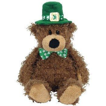 Ty Beanie Babies Lucky O'Day - Irish Bear ()