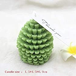 Candle Molds 3D Christmas Pine Cone Food-Grade Sil