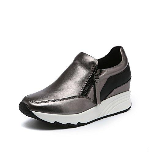 la de deporte Zapatos alta ocio de señora de blanco B del zapatillas aYW5qp5n0f