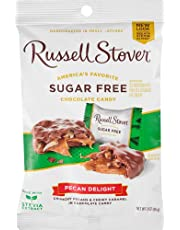 Russell Stover No Sugar Added Pecan Delights, 85-Gram Bag (Pack of 1)