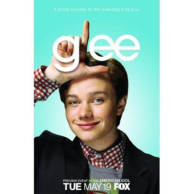Glee Kurt Chris Colfer TV Poster