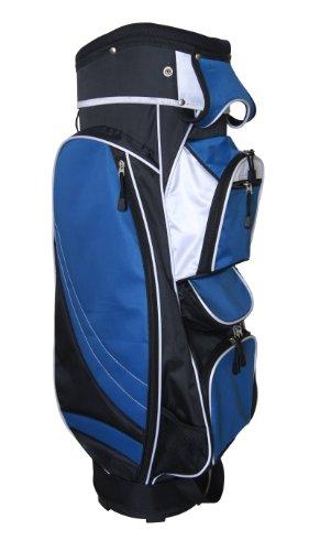 (Precise MX14 Deluxe Cart Bag-14 Way Top (Blue))
