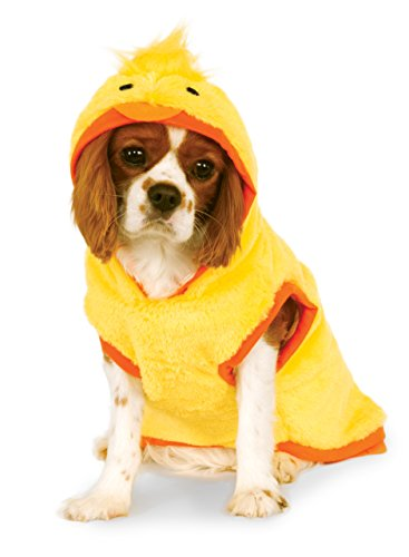 [Ducky Hoodie for Pet, Medium] (Duck Costumes For Dog)
