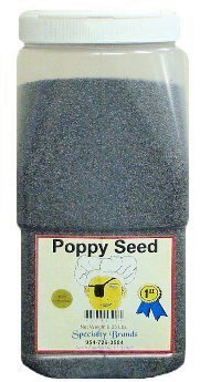 Poppy Seed - 6.25 lb. Jar by Specialty Brands (Image #1)