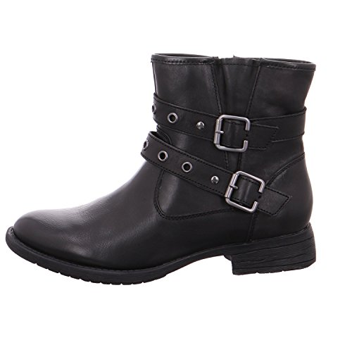 Jana 25410 - Sort (skinn) Womens Boots ...