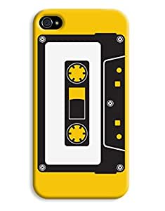 Black and White Cassettes Case for your iPhone 4/4s