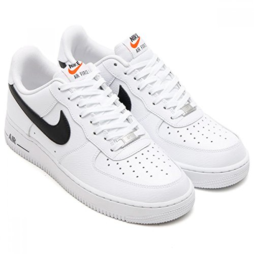Nike Air Force 1 Laag Wit / Zwart-wit