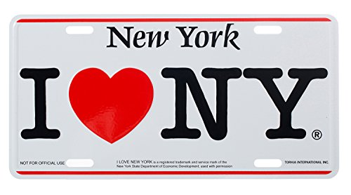 nyc license plate frame - 5
