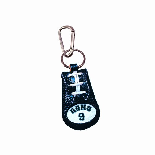 NFL Dallas Cowboys Tony Romo Team Color NFL Jersey Football Keychain ()